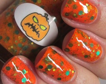 Halloween Pumpkin Nail Polish