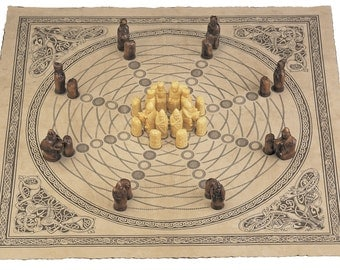 Noble Celts Circular Chess Board