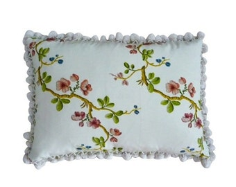 Pierre Frey - floral lumbar pillow