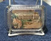 St. Louis World Fair souvenir heavy glass paper weight antique