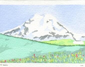 Mt Baker Card