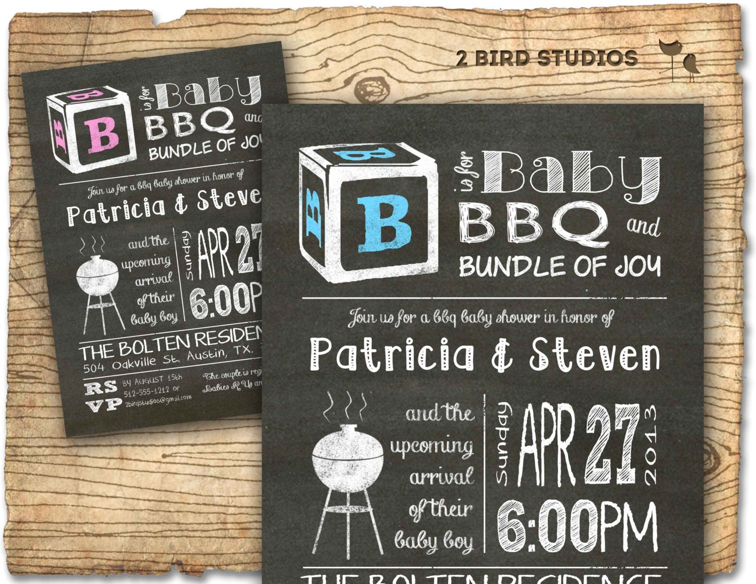 baby shower invitation coed baby shower or for couples bbq