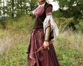 "DISCOUNTED PRICE! Full set ""Archeress"" with accessories and quiver"