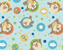 Specialty Looney Tunes Fleece Fabric by the Yard