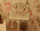 Music stand, dollhouse miniature, scale 1:12