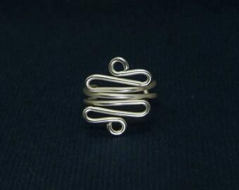 925 sterling silver Tragus cuff, Ear Cuff, Nose cuff, Tragus cuff,  Non Pierced, Cartilage, Fake piercing