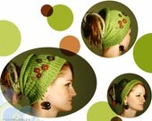 Dreadlocks Tube Hat. Knitted Hair wrap. Knitted Dread Band. Knit Hair band. Unisex Tube Hat. Women Tube Hat. Men Tube Hat. CHOOSE YOUR COLOR