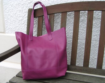 Turkish Delight Hand Made Leather Shopper/Tote/Casual Bag