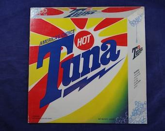 "1975 Hot Tuna ""America's Choice"" Vinyl LP Blues Rock Record Album - BFL1-0820 Grunt Records"