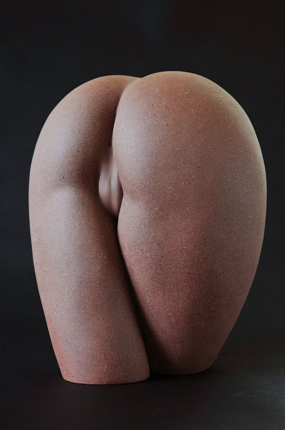 Plump body sculpture, hand made,Art pottery(P-4)