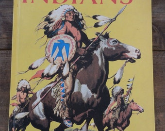 ON SALE !!  The American Indians - 1974 - Silver Dollar Book