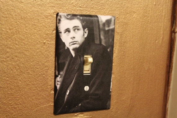 Items Similar To James Dean Decorative Light Switch Cover