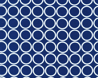Metro Living Circles in Navy - Robert Kaufman