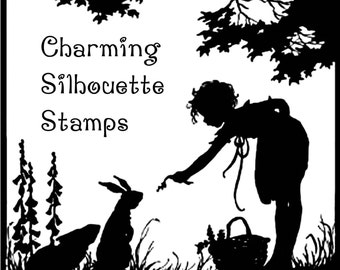 Charming Sihlouette Stamp Set