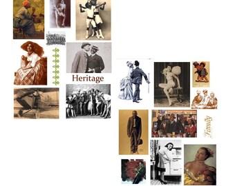 SALE**** Black History Digital Collage Set****SALE
