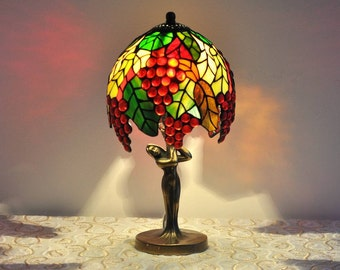 popular items for tiffany style lamp on etsy. Black Bedroom Furniture Sets. Home Design Ideas