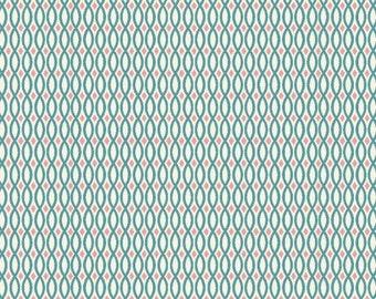 SALE! 1/4m Raaga - Rivulet - Monaluna Organic Cotton