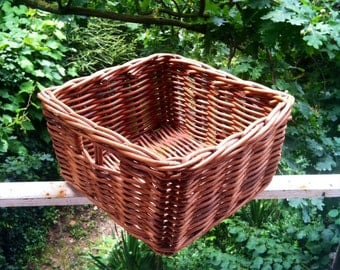 Vintage re cycling bike bicycle wicker baskets HD harvester  town & country detachable urban style
