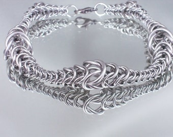 Graduated Chainmaille Bracelet