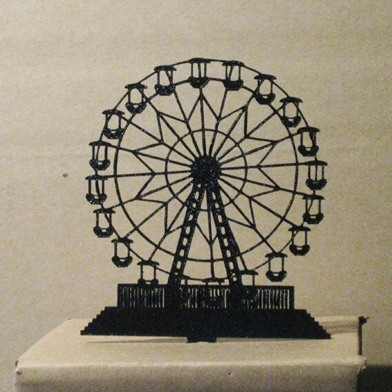 Ferris Wheel Cake Topper