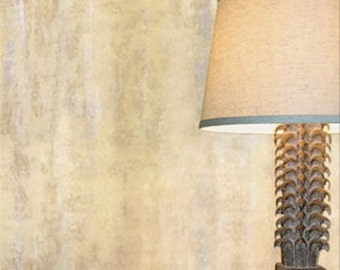 Handmade Gold metallic wallpaper by Rober Crowder & Company