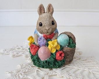 1988 Easter Egg Hunt United Design Bunny With Basket