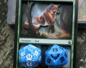 Magic the Gathering 3D Counter - Spindown Holder (Vulpine Goliath)