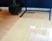 Items Similar To Natural Birch Wood Bamboo Chair Mat