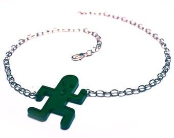 Cactuar Necklace