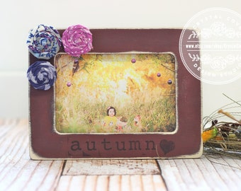 Fall Picture Frame Etsy