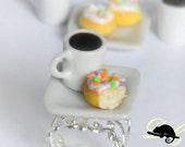 Coffee and Doughnut Ring (In Stock)