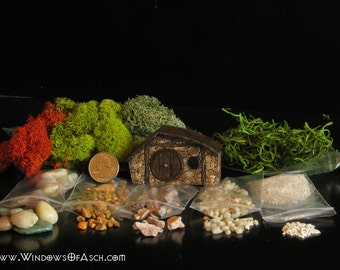 Build Your Own Hobbit Hole Terrarium - PAINTED