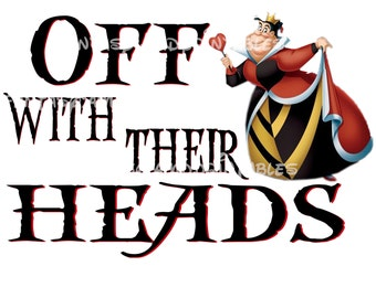 Disney Villains Queen Of Hearts Costume DIY Printable Image Marathon Off With Heads Tower of Terror Ride Mountain Running Training  Haunts