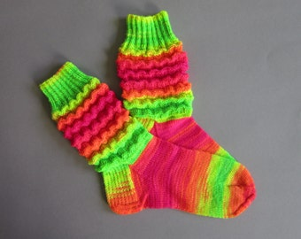 Socks Hand Knit Women's Wool Socks Women's Gifts