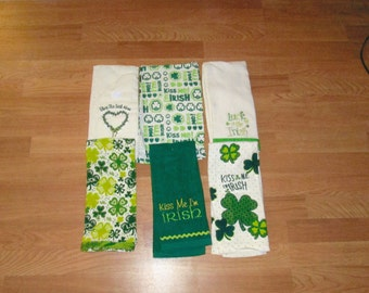 Crocheted hang towel Saint Patrick Hang Towels