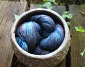 """Alpaca-Silk """"Stormy Seas"""" lace yarn"""