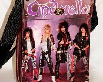 CINDERELLA Heavy Metal Record Album Purse