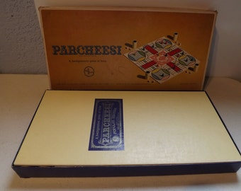 Parcheesi Board Game  By Sechow and Righter Co