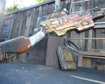 STEAMPUNK Zombie Strike SlingFire Blaster Lever-Action Blasting !!!