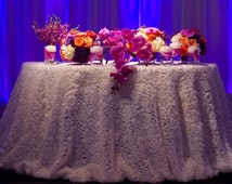 Rose Ivory Tablecloth