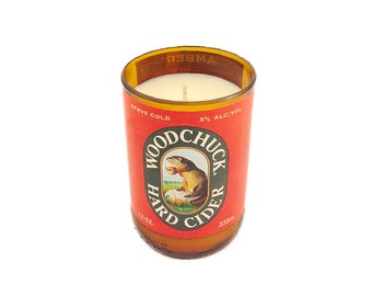 WoodChuck Cider Soy Candles