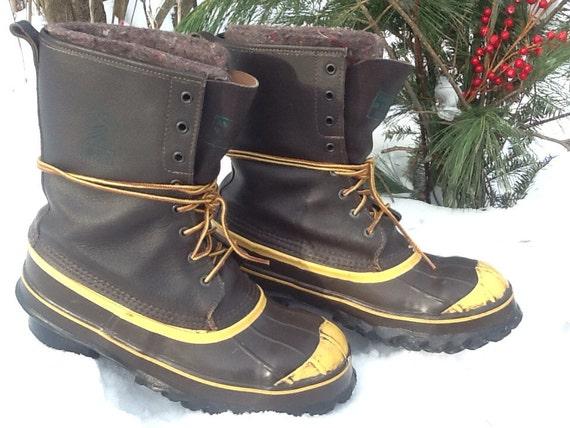 lacrosse de icer warm winter boots mens size 9 snowmobile