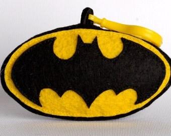 Bat Symbol Keychain/Ornament