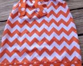 Pumpkin Spice and Everything nice!Fall Chevron Pillowcase Dress