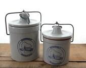 Wisconsin Homestead - Wisconsin Pride Cookie Storage Jars