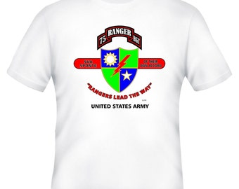 Army Rangers & Afghanistan War Veteran Operation Enduring Freedom Unit And Operation  2-Sided Shirt