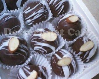 Almond Amaretto Cake Balls