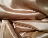 """Antique Gold taffeta 58-60"""" wide sold by the yard, for wedding decoration, dress, chair bows, party decorations, sewing projects."""