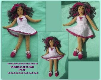 Amigurumi Shoe Tutorial : Amigurumi doll pattern Etsy