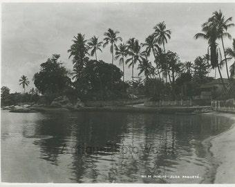 Ilha Paqueta Rio de Janeiro Brazil antique photo